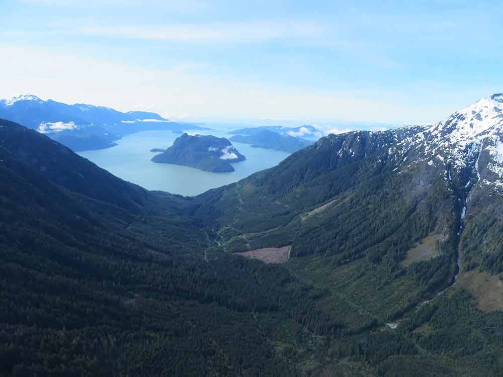 potlatch project valley with lake